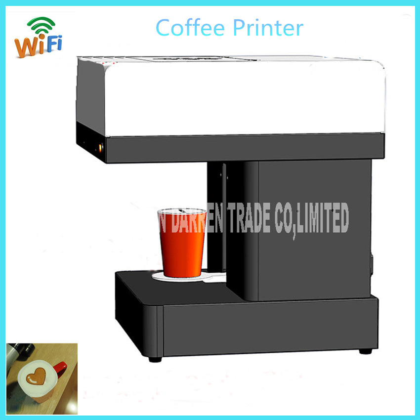 WIFI operated Edible ink printer Art Beverages Coffee Printer coffee Food printer Coffee Pull Flower selfie coffee printer beverages and food additives ternate pinellia extract