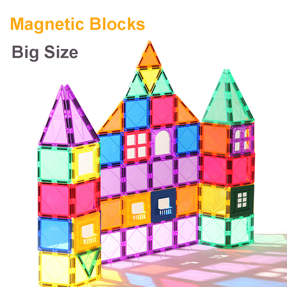 60pc Magnetic Blocks Building Construction Children Toys Educational Game GIFT