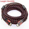 Gold Plated Nylon Braided HDMI Cable HDMI 2.0 (4K x 2K) Ethernet Support Video 4K 2160p HD 1080p 3D 1.5m 3m 5m 10m 15m 20m