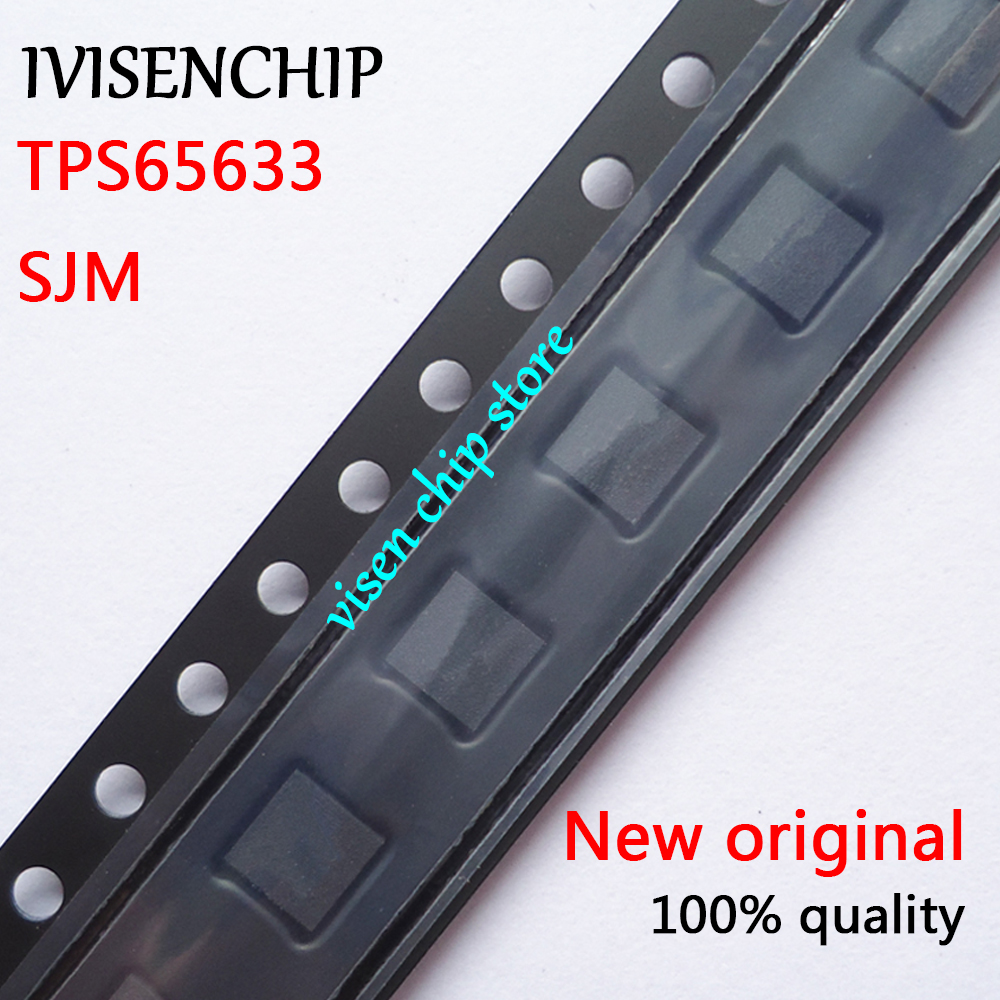 5pcs TPS65633 TPS65633RTER SJM QFN-16