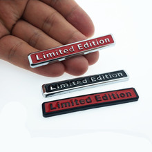 CDIY 3D Chrome Metal Limited Edition Badge Car Auto Body Emblem Badge Sticker Decal Chrome Emblem Car Styling Accessories 3d metal limited edition auto car sticker badge decal stickers chrome emblem for all car styling