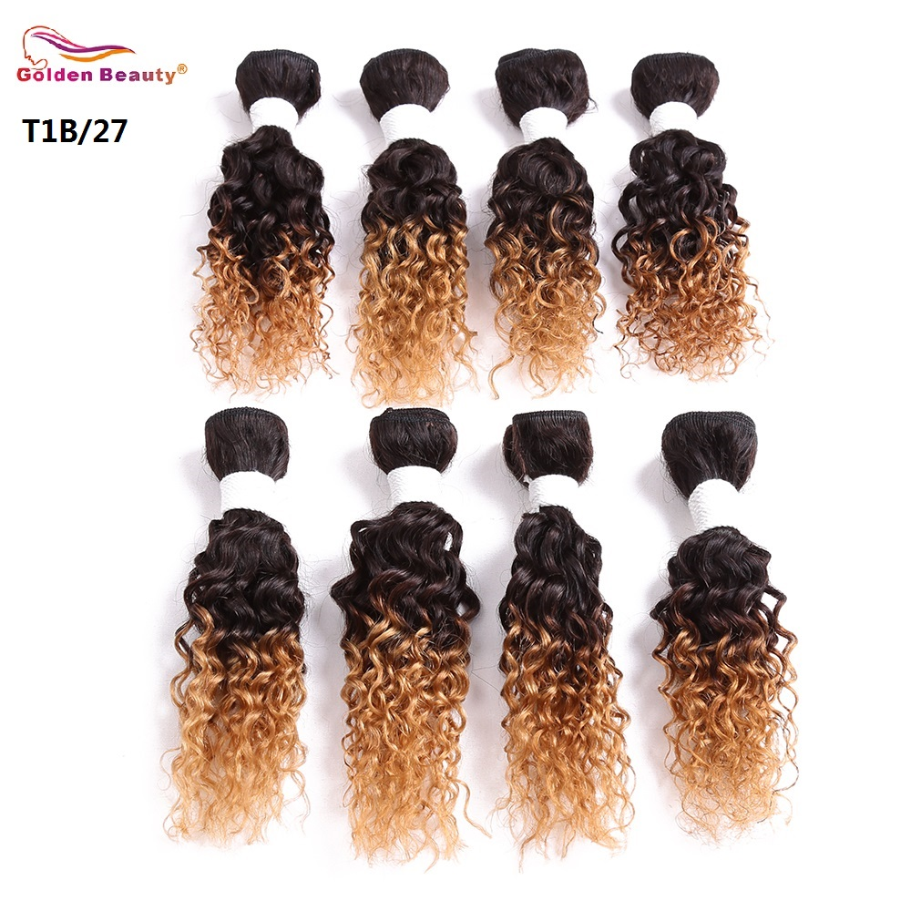 8 14inch jerry curl synthetic hair weave sew in hair extensions how long does it last pmusecretfo Choice Image