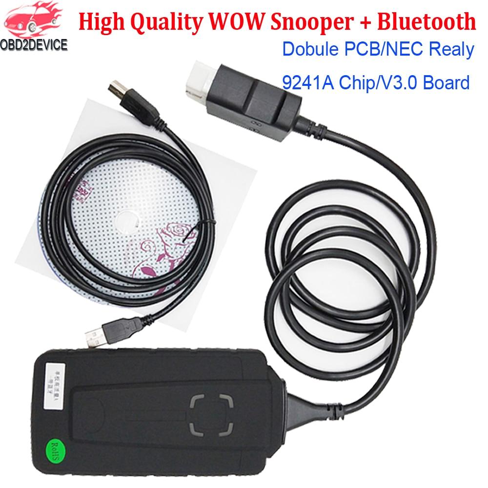 2020 Best Quality W0W Sn0 per Single PCB with Bluetooth Keygen 5 008R2 5 0012 W-O-W OBD2 Auto Scanner for Car Diagnostic-Tool