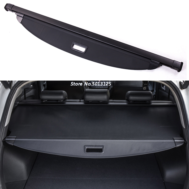Car curtain trunk partition curtain partition Rear Racks Cover For <font><b>Hyundai</b></font> <font><b>Santa</b></font> <font><b>Fe</b></font> 2019 2020 2013-2018 Car <font><b>Accessories</b></font> image