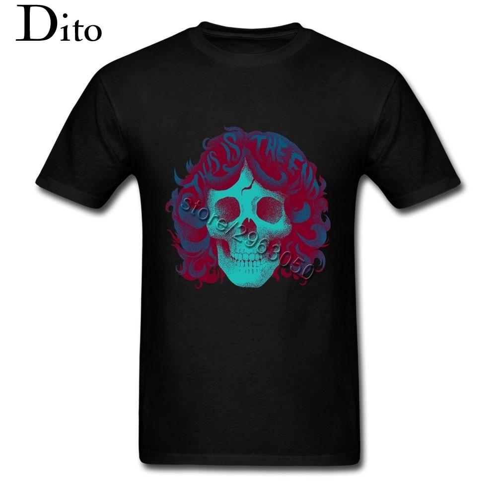 Desain t shirt elegan - Tahun 1980 An Jim Rude Lucu T Shirt Pria Merek Mewah Desain Teeshirts Besar