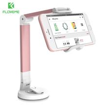 FLOVEME Pop Car Phone Holder For Kitchen Tablet Mount Stand 2 in 1 Desk Fit Phone Under 5.5 inch Size Soporte Movil Accessories