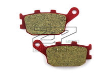 Motorcycle parts Ceramic Brake Pads Fit HONDA NC 700 SA (abs) 2012-2013 CBR 600 FX/FY 1999-2000 Rear Red Composite Free shipping