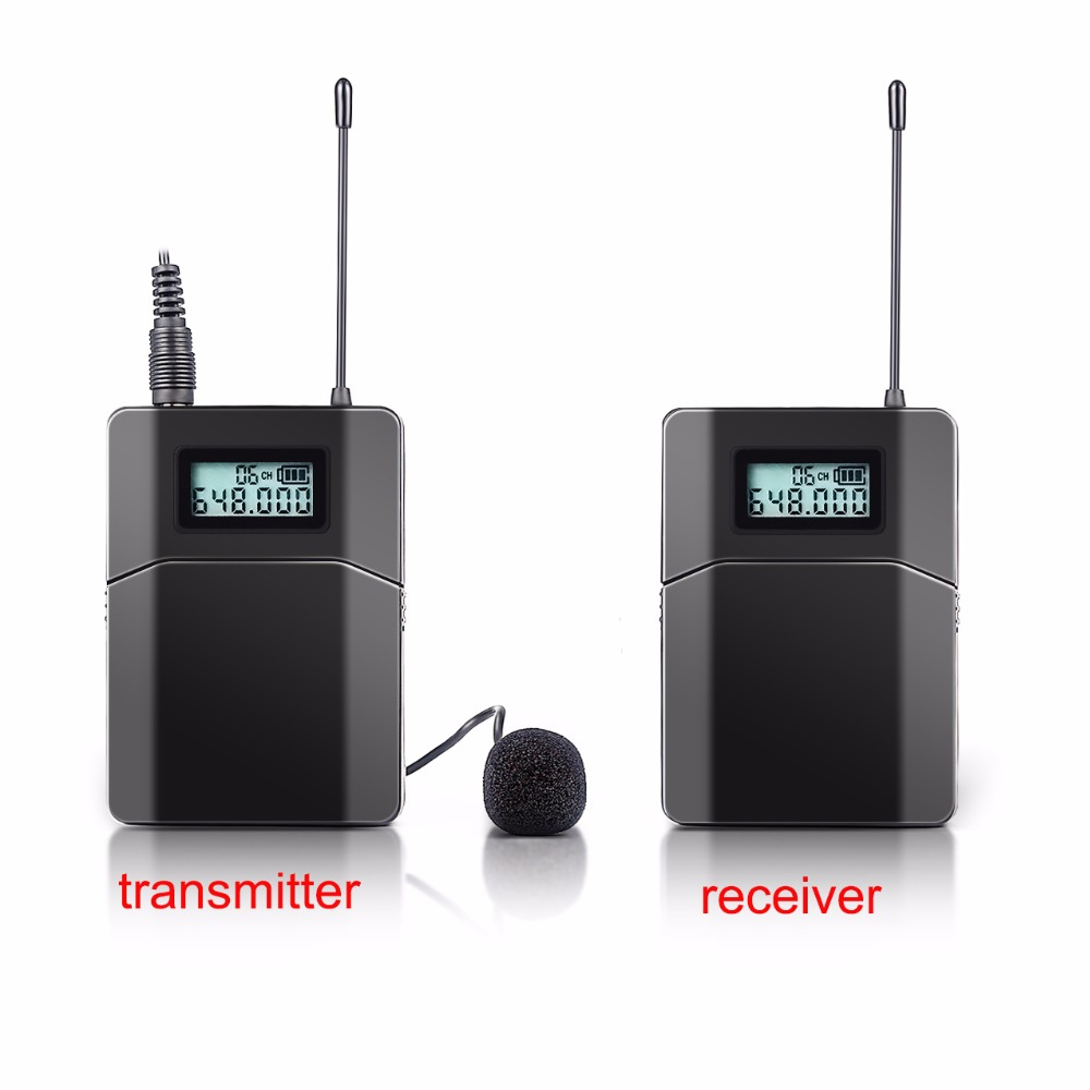 Free shipping 100m Wireless Tour Guide System Used For Tour Guiding Church Teaching 1 Receiver 1 Transmitter With Mic недорго, оригинальная цена
