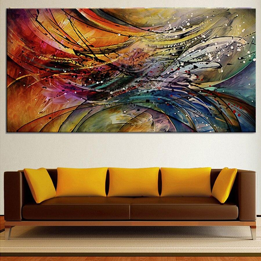 Berühmte Abstrakte Moderne Ölgemälde Auf Leinwand Große Moderne Gemälde  Wandkunst Live Gemälde Wohnkultur Bilder Handgemalte In Berühmte Abstrakte  Moderne ...