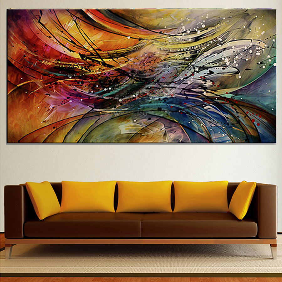 Famous abstract modern oil paintings on canvas large for Immagini astratte moderne
