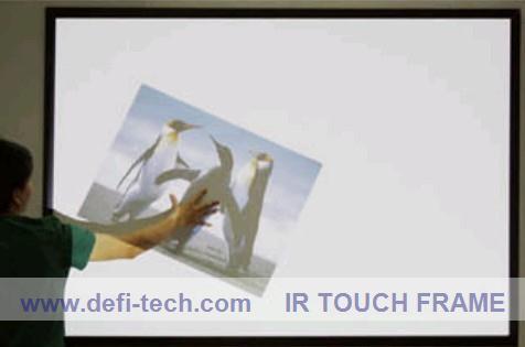 """Prix pour 6 points 60 """"Infrarouge multi touch cadre de l'écran panneau kits/de Haute qualité avec le prix concurrentiel"""