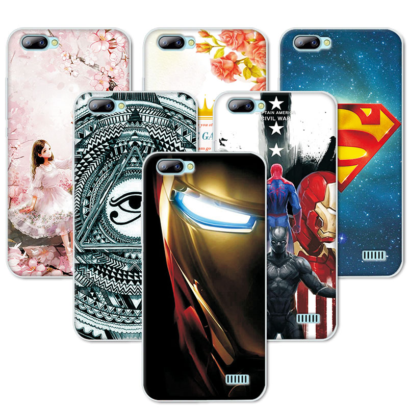 best loved 72020 bf6cd US $1.42 20% OFF|Coque For Blackview A7 Back Cover Case 5.0