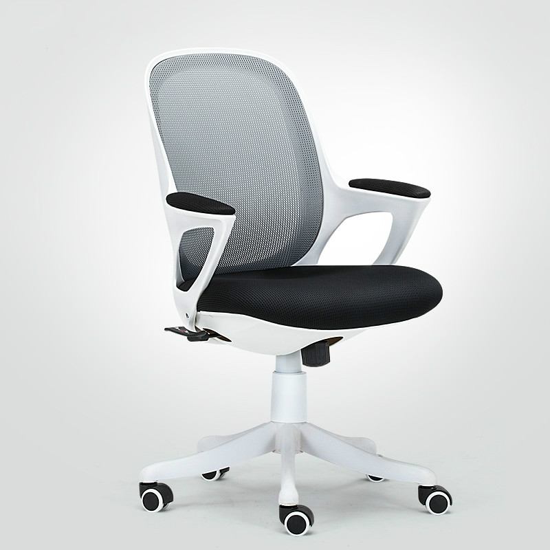 High Quality Ergonomic Computer Chair Mesh Office Chair Lifting Rotatable Swivel Student Chair Comfortable Handrest sedie uffici 240337 ergonomic chair quality pu wheel household office chair computer chair 3d thick cushion high breathable mesh