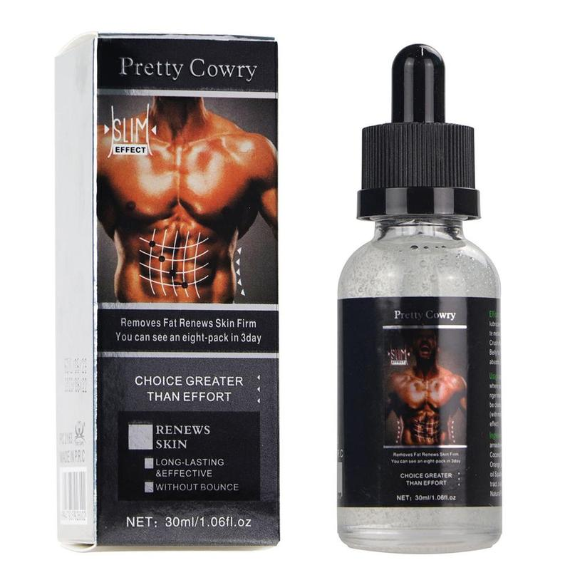 Powerful Abdominal Muscle Essential Oil  Men Stronger Muscle Slimming Cream Anti Cellulite Fat Burning Weight Loss For Muscle