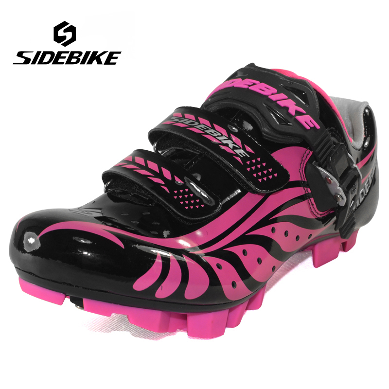 Sidebike Cycling Shoes Mountain Women Antiskid MTB Bike Racing Self-Locking Bicycle Shoes Professional zapatillas ciclismo tiebao professional bike cycling shoes unisex mtb mountain racing shoes waterproof athletic self locking zapatillas de ciclismo