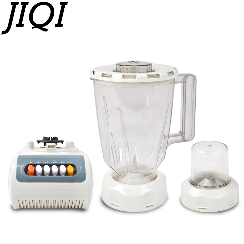 JIQI food blender Extractor Mixer electric juicer Fruit juice Grinding Machine meat grinder egg Whisk beater soya-bean milk 110V commercial blender mixer juicer power food processor smoothie bar fruit electric blender ice crusher