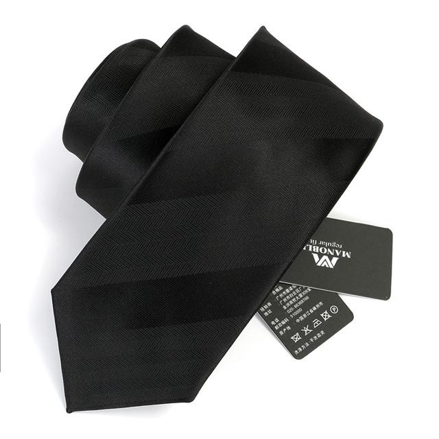 Laços dos homens 2016 Nova Marca Casual Elegante 7 CM Gravata Fina Moda homens de Negócios Gravatas Skinny Gravata Gravata Fina para Homens Presente caixa