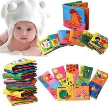 Познай development intelligence обучающие книга малыша младенца ткань игрушки для