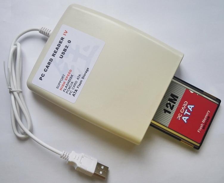 USB pcmcia PC カードリーダー 68 ピンセンターサポート PCMCIA 、 Flashdisk 。、 PC ATA カード、 ATA フラッシュストレージ、 SD pcmcia 、 CF pcmcia  グループ上の パソコン & オフィス からの カードリーダー の中 1