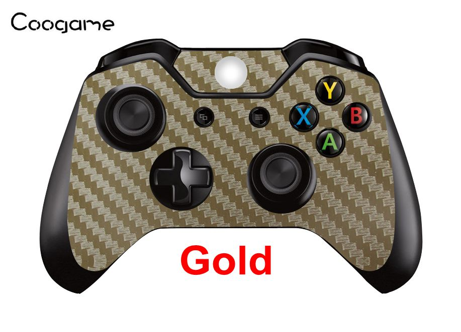 7 Colors Carbon Fiber Skins For Microsoft Xbox One Controller Joystick Sticker Pads In Stock
