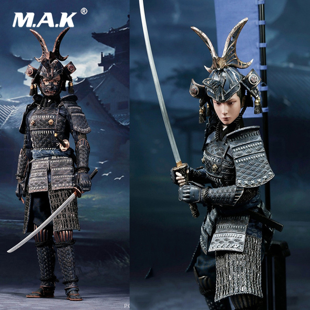 For Collection 1/6 W003 Japanese The Second of Warrior Women Series the Butterfly Helmets Female Warriors Deluxe/Normal Version