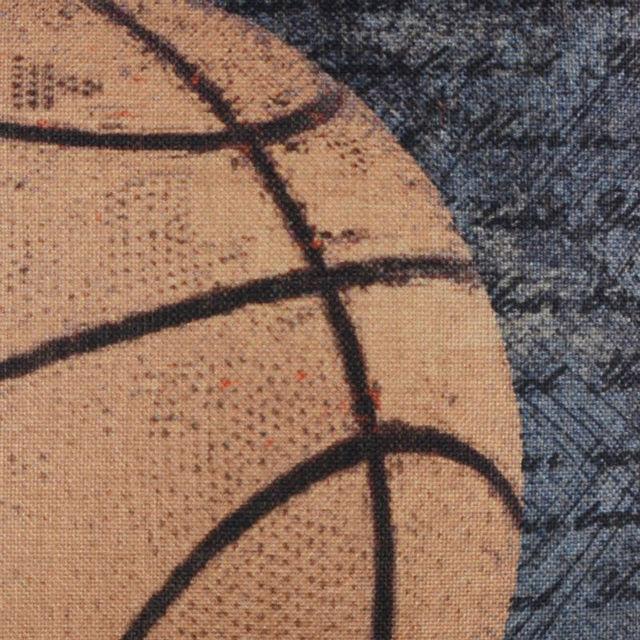 Retro Basketball Cushion Cover 4