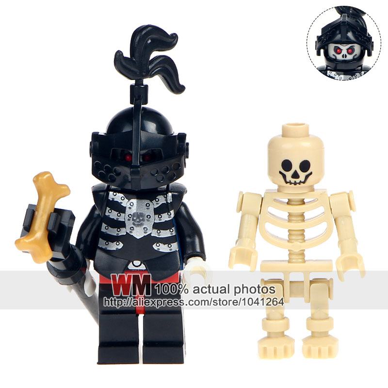 Knowledgeable Single Sale Ax9815h Skeleton Medieval Knights Castle Knights Skeleton Horses Building Bricks Blocks The Lord Of The Rings Toys Blocks Toys & Hobbies