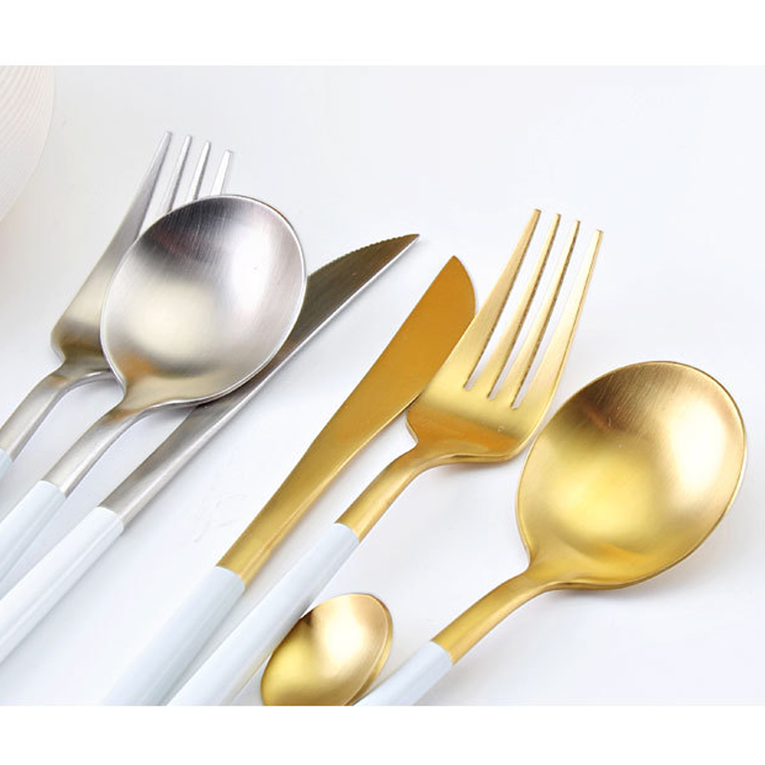 popular travel cutlery set with case buy cheap travel cutlery set behokic 4 pcs set luxurious stainless steel camping cutlery set 1 knife 1 fork dinnerware