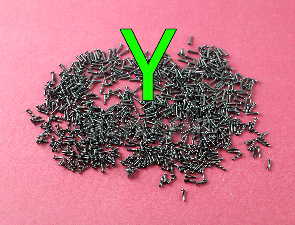 Y Type Screws For Nintend Switch NS Joy-con Joycon Shell Case Repair Screws Replacement Part