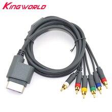 HD TV Component Composite Cord AV Audio Video Cable for Microsoft XBOX360 Xbox 360 Console