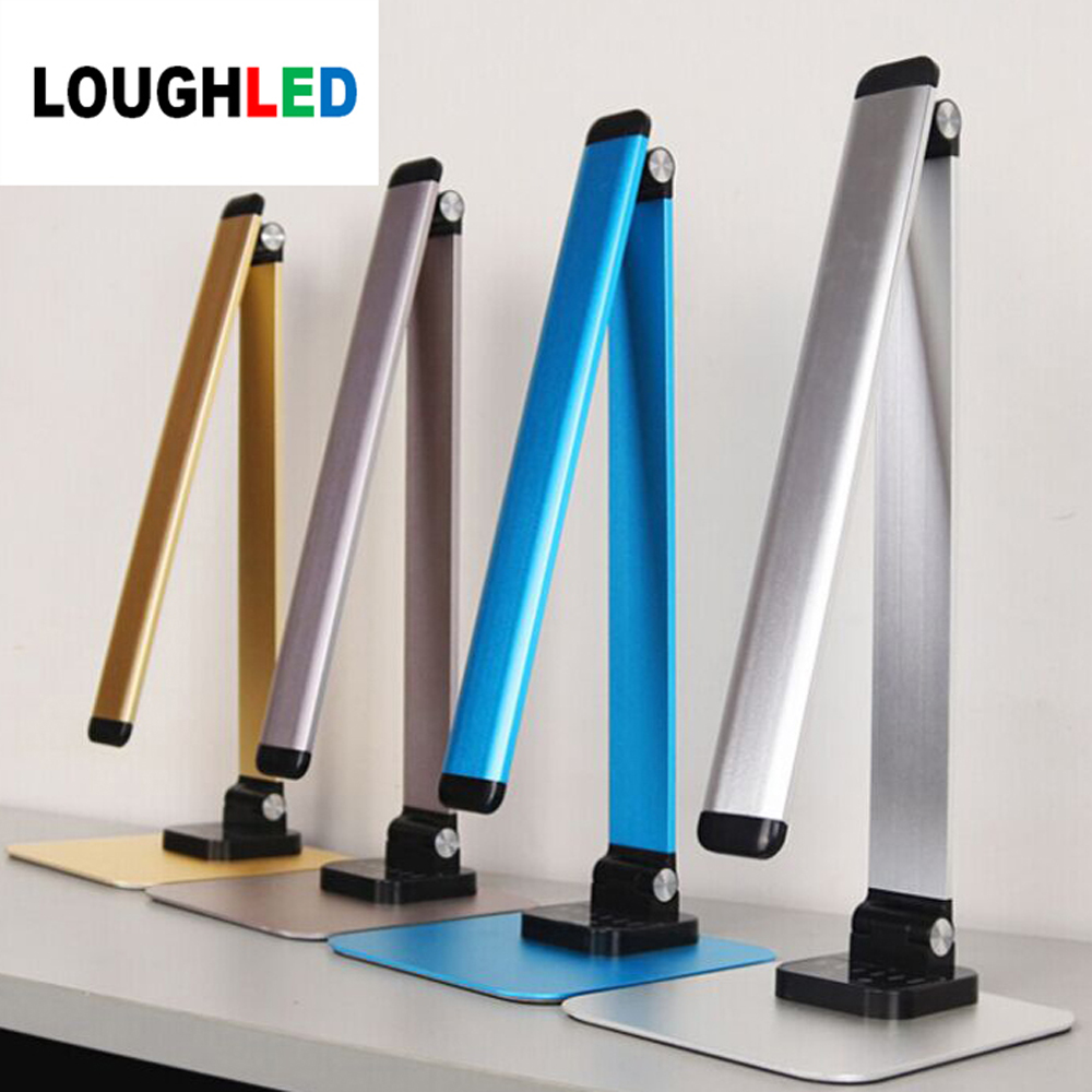 12W 72pcs 2835 LED Desk Lamp Foldable Dimmable Rotatable Eye Care LED Touch-Sensitive Control USB Charging Table Light aifeng led desk lamp foldable dimmable 5w 370lm desk table light usb charging touch night light eye care book reading desk lamps
