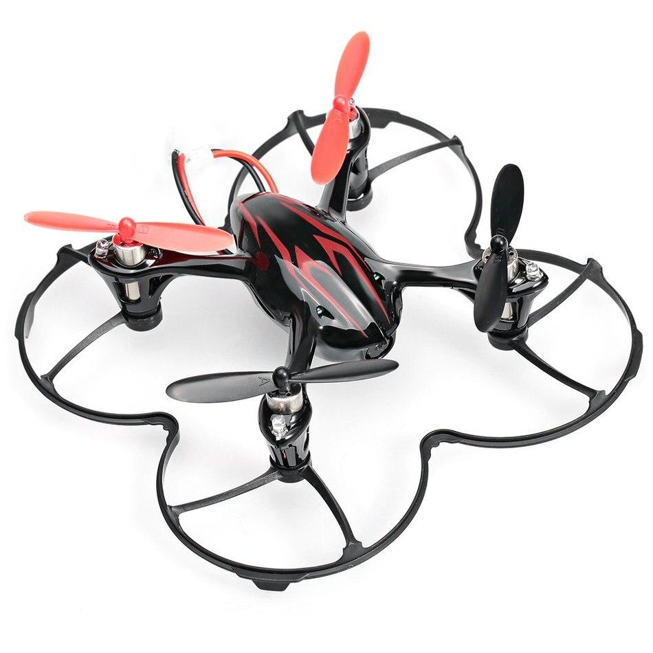 Rc drone hubsan x4 h107c 2.4g 4ch 6 ejes con 2mp Mantenimiento de Altitud de Gra