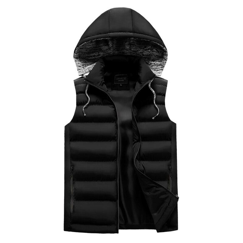 men\`s casual clothing fashion down jackets men leisure dress vests winter warm elegant korean streetwear trend coat vest for men (4)