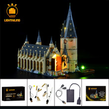 LIGHTAILING Led Light Up Kit For Hogwart`s Great Hall Set Compatible With 75954 (NOT Include Model)