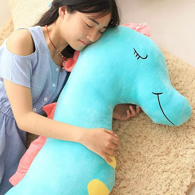 Drop shipping 140 cm Drop shipping Creative sleep sea horse plush toys baby child pillow Seamaster doll birthday Christmas gift big octopus plush toys shark hold pillow doll baby doll creative birthday gift
