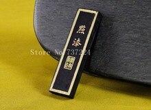 Tintas Tinta Tradicional chinesa Vara Sólida Anhui oldhukaiwen Hui Mo tinta tinta da caligrafia de pinho-fuligem Dian Qi Canção Yan