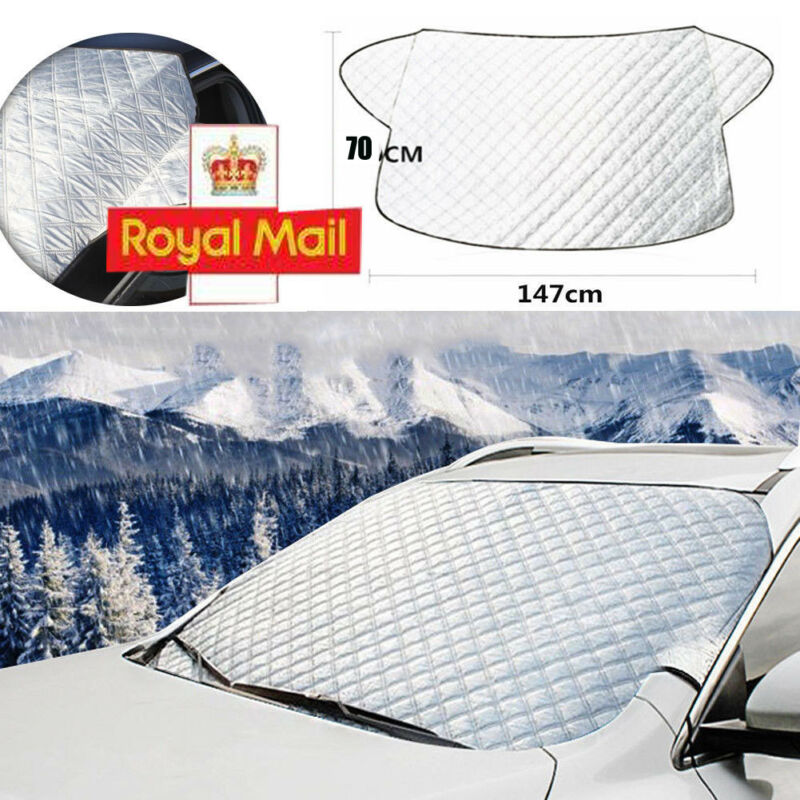 Car Windshield Cover Front Window  Visor Sun Snow Dust Protector Shade 200x70cm