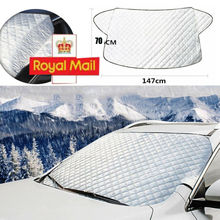 Car Windscreen Cover Snow Frost Ice Winter Sun Shade Dust Protector Shield Car Windshield Cover