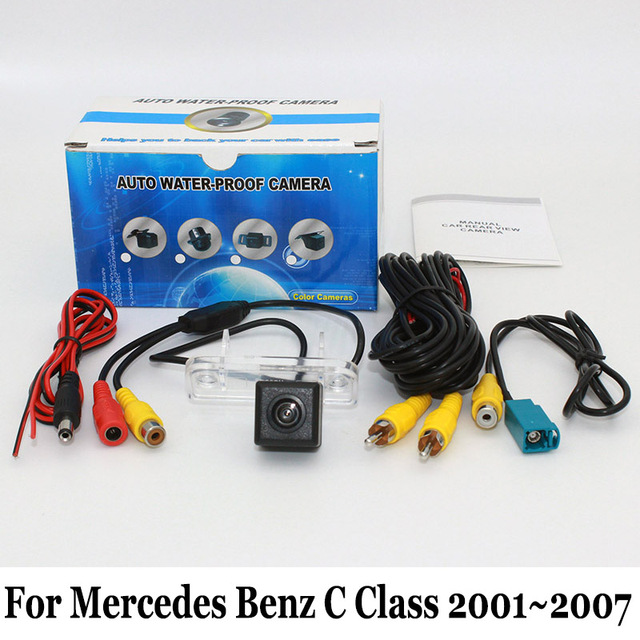 For Mercedes Benz C Class W203 2001~2007 / HD CCD Night Vision Rear View Camera / Wired Or Wireless Back Up Reverse Camera / RCA