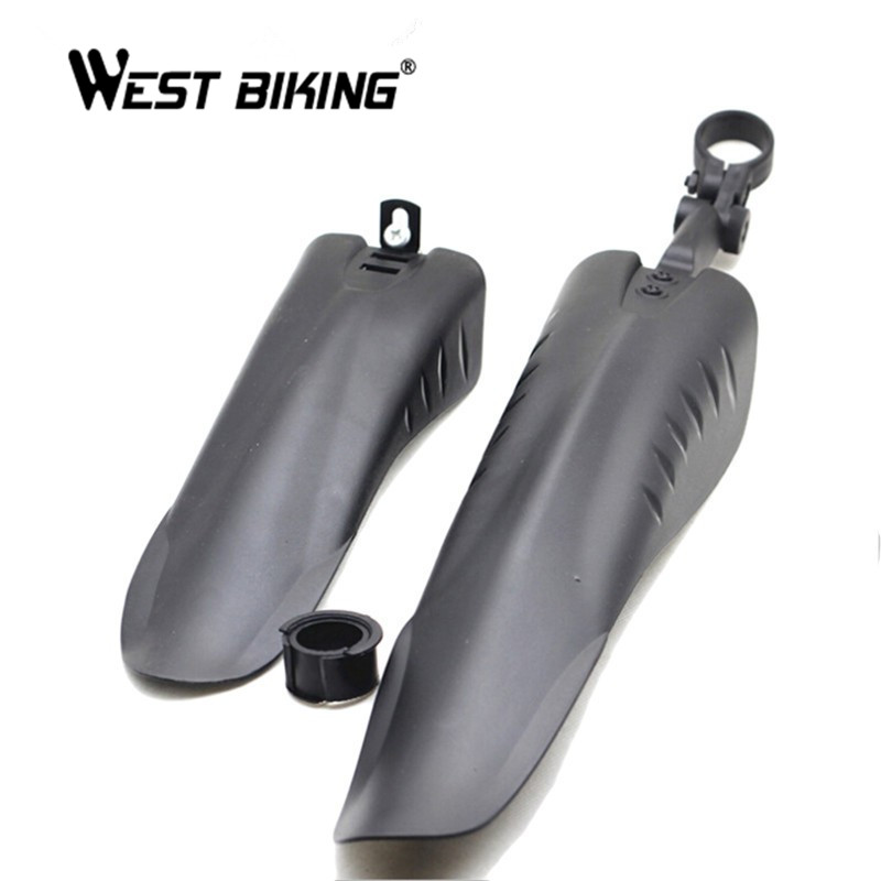 WEST BIKING Bicycle Mudguard Mountain Bike Fenders Set Mud Guards Wings For Bicycle Front/Rear Fenders Cycling Accessories