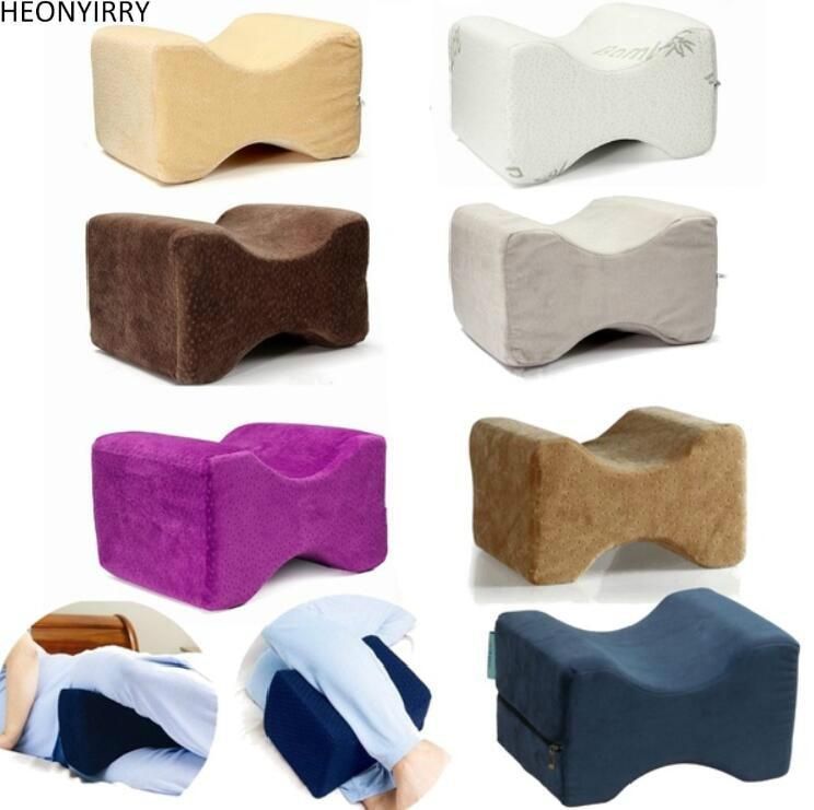 Memory Foam Knie Kissen Bett Kissen Schmerzlinderung Schlaf Haltung Unterstützung Knie Orthopädische Kissen Massage Fußpflege Werkzeug