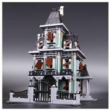 Новый Лепин 16007 2141 шт. Монстр истребитель дом с привидениями Модель Набор строительных Наборы модель совместима с legoinglys 10228