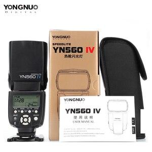 Image 5 - YONGNUO YN560IV YN560 IV 2,4G esclavo maestro inalámbrico flash Speedlite con YN560TX II disparador para cámaras Canon Nikon Pentax