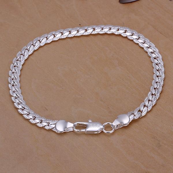 088a3a4b4 925 sterling silver jewelry 925-sterling-silver bracelets for women silver  chain link bracelet