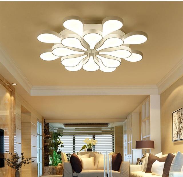 Modernes haus decken lampe blatt decke leuchten vintage schlafzimmer decke  leuchten caracolas marinas naturales in Modernes haus decken lampe blatt ...