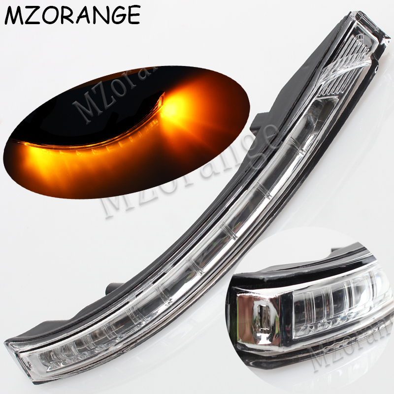 MZORANGE Rear view Rearview Mirror LED Turn Signal Lamp light blink For KIA Sportage 2011 2012 2013 2014 87614 4T000 87624 4T000 image