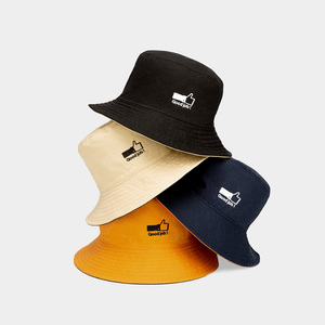 Image 1 - 2pcs/lot Youpin Mijia Double sided Two color Simple Fisherman Hat Portable Shade Convenient Storage Hat for Lover Couple