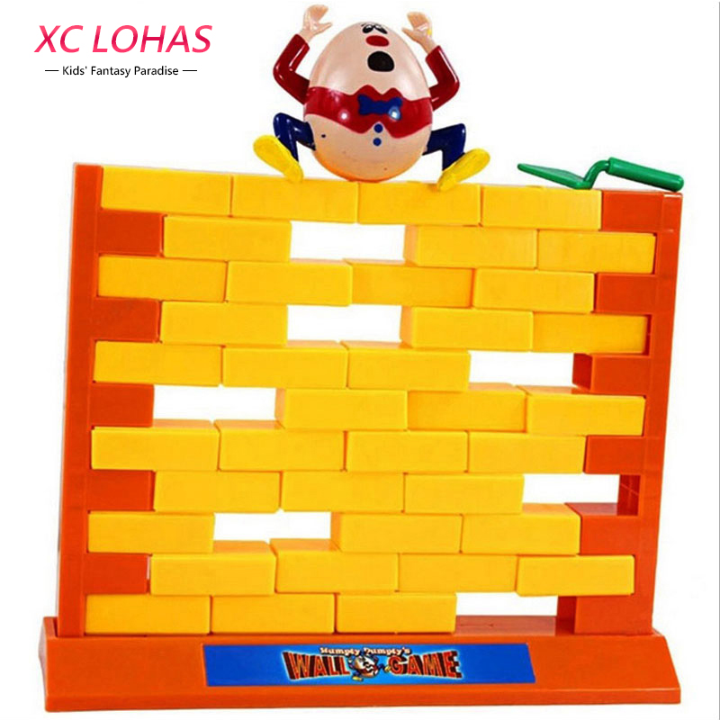 Creative Wall Demolish Game Humpty Dumpty's Wall Game Interactive Game Children Learning Educational Toys for Kids Fast Shipping creative kids toys tumbling monkey game falling toy tumbling monkey parent child interactive learning educational toys for child