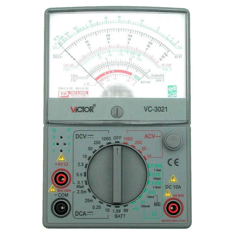 LIXF VICTOR VC3021 Analog Multimeters, Mechanical Multimeter, The New, Measurable