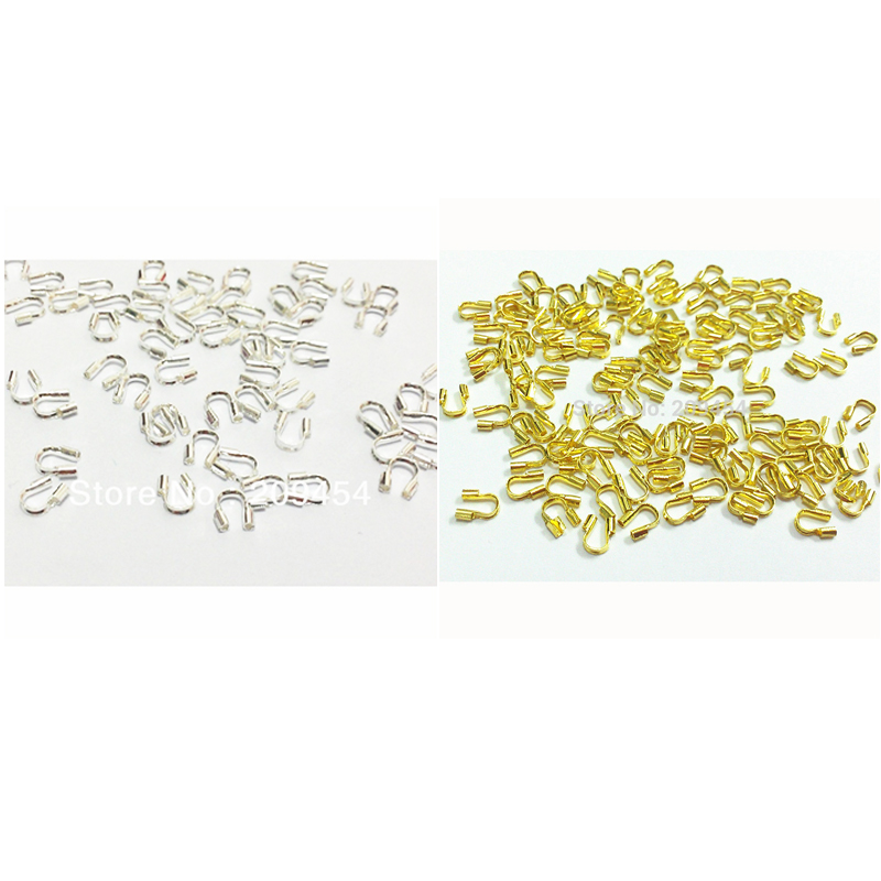 1000pcs/bag Silver/Gold Color Wire Guard Guardian Protectors